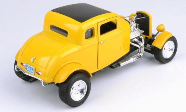 73172tc product 01 - 1932 FORD 5 WINDOW ROADSTER - YELLOW