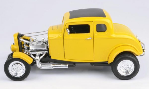 73172tc product 02 - 1932 FORD 5 WINDOW ROADSTER - YELLOW