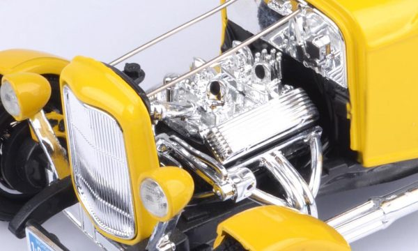 73172tc product 03 - 1932 FORD 5 WINDOW ROADSTER - YELLOW