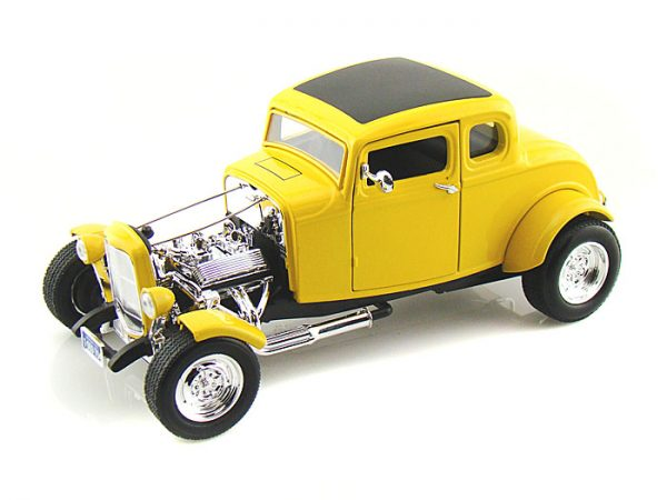 73172y - 1932 FORD 5 WINDOW ROADSTER - YELLOW