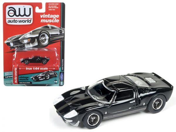 1965 Ford Gt40- Black at diecastdepot