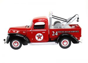 1940 Ford Tow Truck - Texaco at diecastdepot