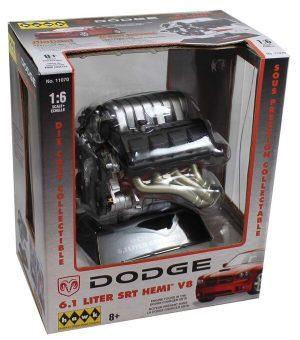 DODGE 6.1 LITER SRT HEMI V8 - REPLICA at diecastdepot