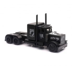 Scale Peterbilt Black Out Truck at diecastdepot