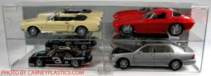 Display Case for 1:18 Scale that Holds 4 Cars at diecastdepot