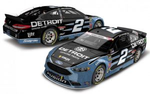 2016 Brad Keselowski #2 Detroit Genuine Parts Fusion - Daytona Win at diecastdepot