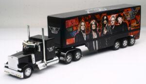 Aerosmith - Peterbilt 379 Sleeper Cab with 3-Axle Trailer at diecastdepot