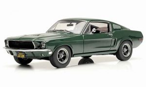 1968 Ford Mustang GT Bullitt at diecastdepot