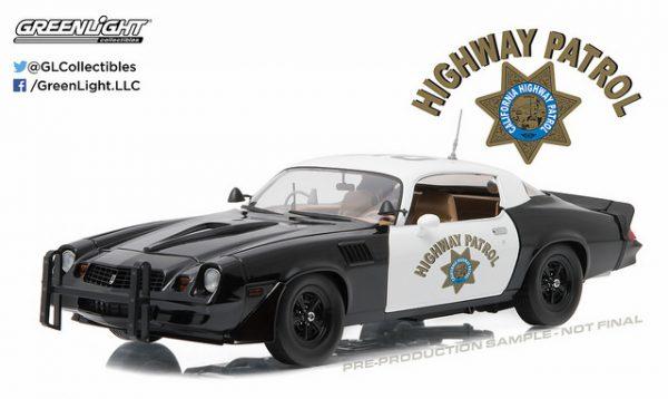"1979 Chevy Camaro ""California Hwy Patrol"" at diecastdepot"