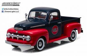 1951 Ford F-1 Pick Up Truck - Gulf at diecastdepot