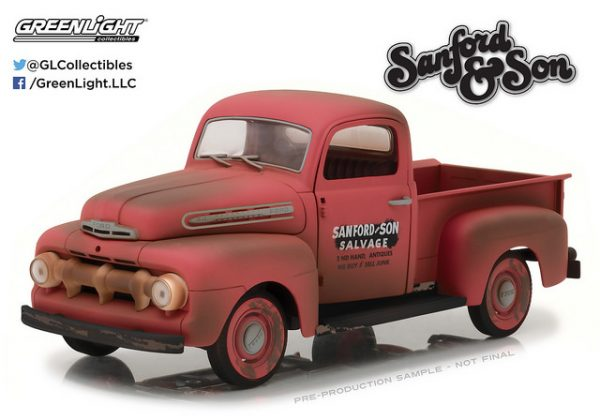 1952 Ford F-1 Pick Up Truck - Sanford and Son at diecastdepot