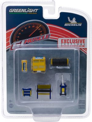 GL Muscle Shop Tools Michelin Tires (Hobby Exclusive) at diecastdepot