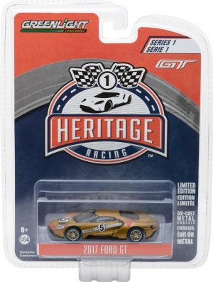 2017 FORD GT-  1966 #5 Ford GT40 Mk II- Tribute  Ford GT Racing Heritage Series 1 at diecastdepot