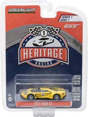 2017 Ford GT 1967 #2 Ford GT40 Mk.IV Tribute- Ford GT Racing Heritage Series 1 at diecastdepot