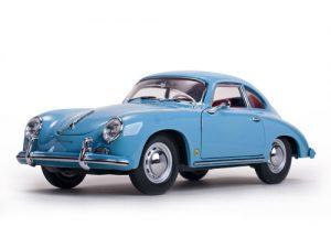 1957 Porsche 356A Coupe- Meissen Blue at diecastdepot