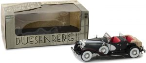 Duesenberg II SJ - Silver and Black at diecastdepot