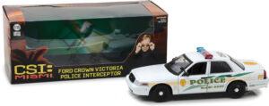 2003 Ford Crown Victoria Police Interceptor Miami-Dade Police-CSI: Miami (2002-2012 TV Series) at diecastdepot