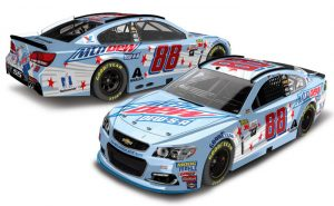2017 Dale Earnhardt Jr #88 Mountain Dew at diecastdepot
