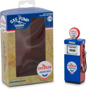 1951 Wayne 505 Gas Pump Chevron Supreme-Vintage Gas Pumps Series 2 at diecastdepot