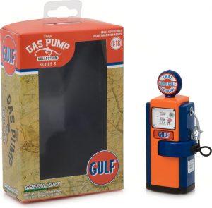 "1948 Wayne 100-A Gas Pump Gulf Oil ""That Good Gulf Gasoline"" -  Vintage Gas Pumps Series 2 at diecastdepot"