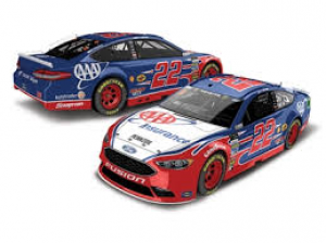 Joey Logano #22 AAA Insurance 2018 Fusion at diecastdepot