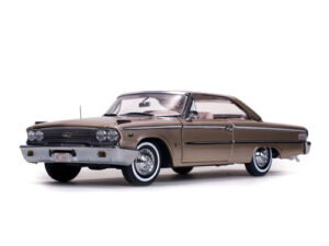 1963 Ford Galaxie 500 XL Hardtop-  Rose Beige at diecastdepot