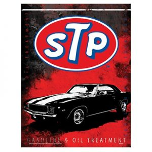 Embossed Metal STP Sign at diecastdepot