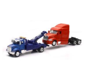 Peterbilt Tow Truck W/ Truck Cab at diecastdepot