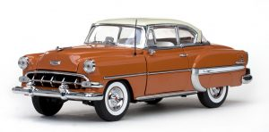 1954 CHEVROLET BEL AIR HARD TOP COUPE at diecastdepot