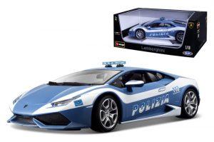 Lamborghini Huracan LP 610-4 Polizia at diecastdepot