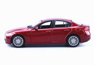 2016 Alfa Romeo Giulia - Red at diecastdepot