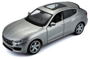Maserati Levante - silver at diecastdepot