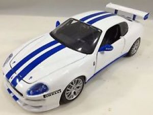 MASERATI TROFEO - WHITE WITH BLUE STRIPES at diecastdepot