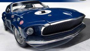 1969 Ford Mustang Boss 302 #1 Sam Posey T/A Race Winner at diecastdepot