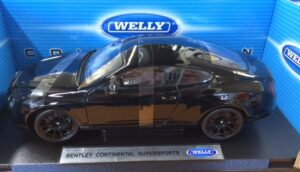 BENTLEY CONTINENTAL SUPERSPORT at diecastdepot