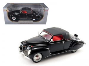 1939 Lincoln Zephyr - black at diecastdepot
