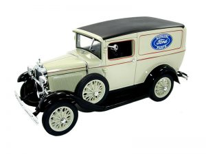 1931 Ford Model A Panel Truck at diecastdepot