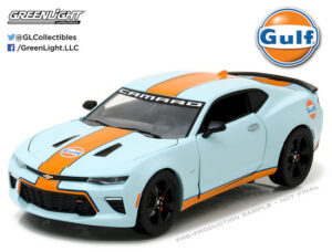 2017 Chevrolet Camaro SS Gulf Racing at diecastdepot