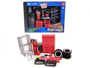 Repair Garage Accessories Set at diecastdepot