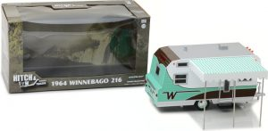 Hitch & Tow Trailers - 1964 Winnebago Travel Trailer 216 at diecastdepot