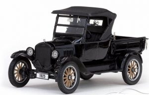 1925 FORD MODEL T ROADSTER PICKUP TRUCK (CLOSED) at diecastdepot