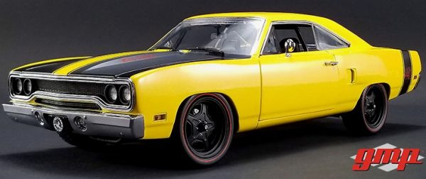 "1970 Plymouth Road Runner - Yellow Street Fighter ""6-Pack Attack"" at diecastdepot"