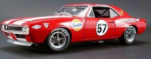 "1967 Chevrolet Camaro Z/28 #57 ""Heinrich Chevy-Land"" Racer at diecastdepot"