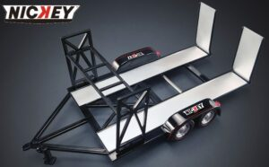 Nickey Chevrolet 1:18 Tandem Car Trailer at diecastdepot