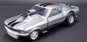 1967 Ford Mustang Gasser Gone in 6 Seconds at diecastdepot