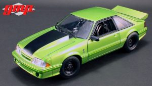"1993 Ford Mustang KING SNAKE ""1320 Series"" Drag Car  - Nitro Green at diecastdepot"