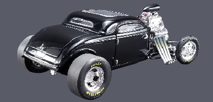 """18900a - 1934 Blown Altered Coupe - """"Outlaw"""" Acme Exclusive"""