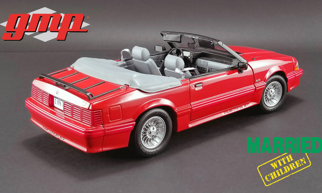 1 Of 630 1:18 Scale GMP//Acme 1988 Ford Mustang Convertible Part # 18904