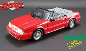 1988 Ford Mustang GT Convertible - Married with Children at diecastdepot