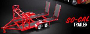 So-Cal Speed Shop Tandem Car Trailer at diecastdepot